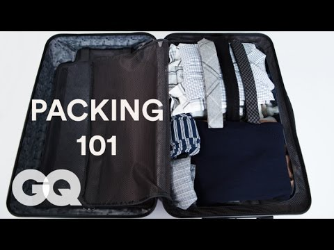How to Pack a Suit in 6 Seconds