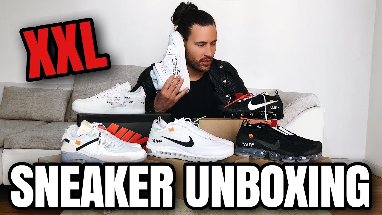 Nike OFF WHITE Unboxing