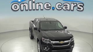 A96870TA Certified 2016 Chevrolet Colorado LT 4WD Crew Cab Black Test Drive, Review, For Sale