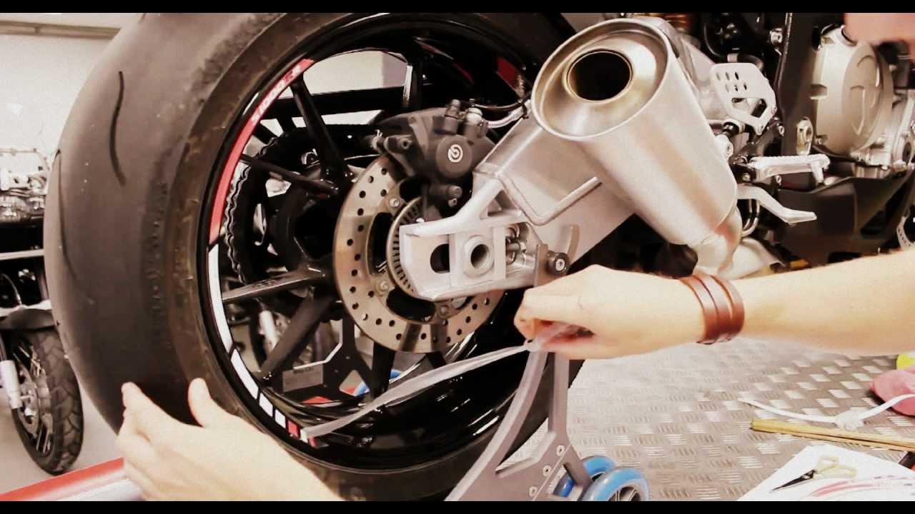 Bmw S1000rr Rimstriping Specialgp Motor Sticker