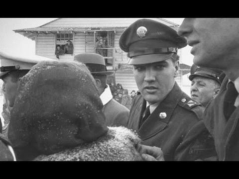 Elvis Army Discharge And Home Coming