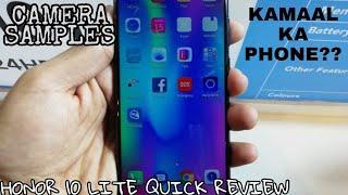 Honor 10 Lite Quick Review - KAMAAL KA PHONE??