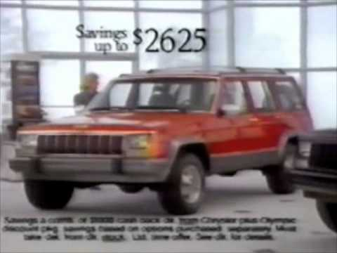 "Jeep/Eagle ""Red Hot and Ready to Roll"" commercial - 1991"