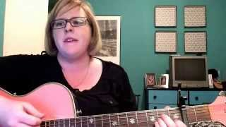 acoustic cover wait whisper song by sara carico