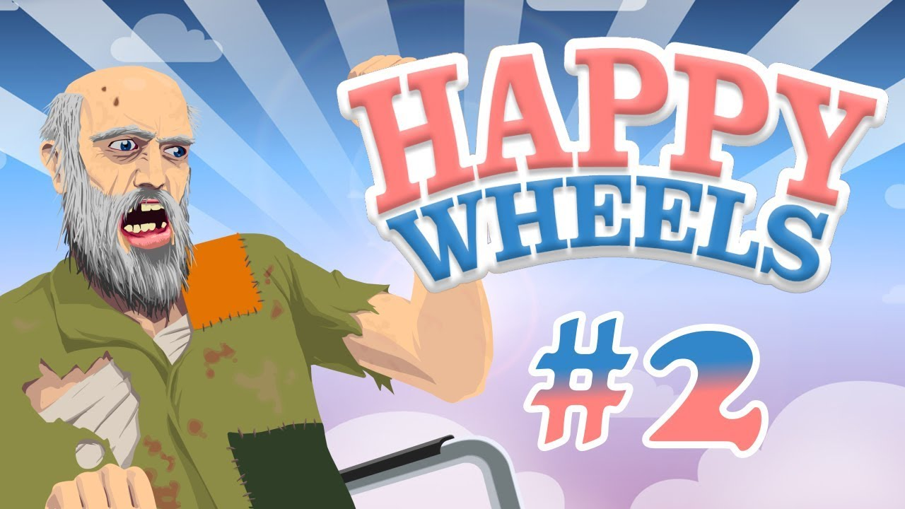 Happy wheels play time #2 | put your 3D glasses on - YouTube