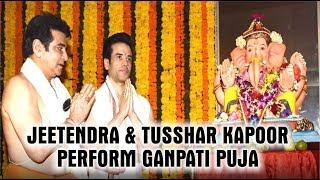 """Ganesh chaturthi Celebration 2018"" At ""Jeetendra"" House | Ekta Kapoor"