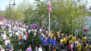 Lowell General Hospital TeamWalk 2012 event video (Firework, Katy Perry)