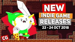 12 Upcoming Indie Game New Releases: 22nd -24th October 2018– Part 1.: Skeletal Dance Party & more!