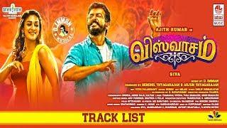 Viswasam Official Track List   Album Launch   Ajith   Nayanthara   Siva   Viswasam Audio Launch