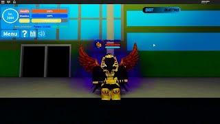 Dark Shadow quirk showcase boku no roblox :D