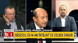 BĂSESCU:Dacă GHIȚĂ are dreptate și COLDEA și KOVESI chiar l-au ȘANTAJAT pe PONTA=ARESTAREA!