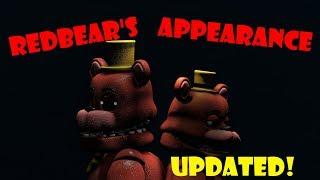 [SFM FNAF] Redbear's Appearance (UPDATED) - ''Series Backstage'' | Bertbert