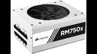 corsair rm750x white обзор