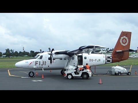 Fiji Airways DHC6 Twin Otter  - Nadi to Taveuni Island