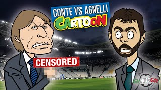 AUTOGOL CARTOON - Conte Vs Agnelli