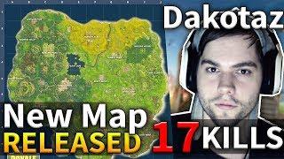 NEW MAP UPDATE Dakotaz 17 Kills Game #83 (Fortnite Battle Royale)