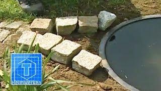 Wasserspiel für den Garten bauen | ToolTown Garten Tipp