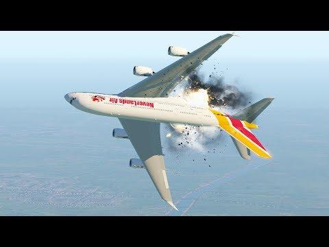 A380 นักบินทำผิดพลาดร้ายแรงในระหว่างการบินขึ้น XPlane 11