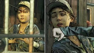 violet and minerva kill clementine inside the cell the walking dead the final season episode 3