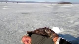 Видео зимняя рыбалка 2016 года