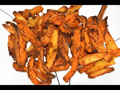 How to make crispy sweet potato fries in air fryer