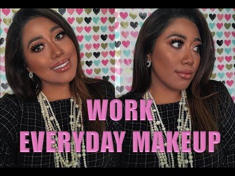 Everyday Work Makeup look (bronze glow) thumbnail