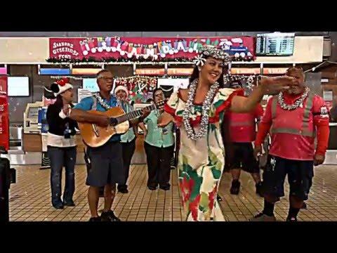 Island Air - Maui (OGG) Station Christmas Caroling 2015