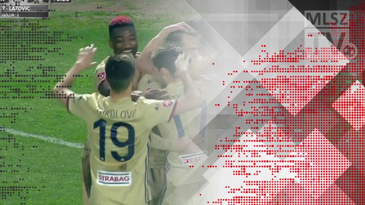 Lazovic Danko második gólja a Budapest Honvéd - Videoton FC mérkőzésen