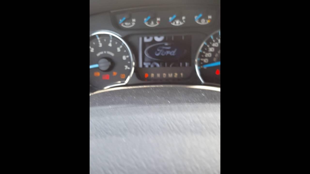 2013 Ford F 150 oil life reset procedure