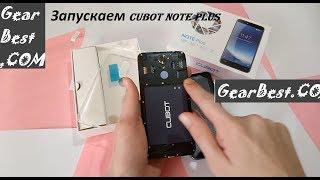 как включить Cubot Note Plus  обзор  смартфона с gearbest