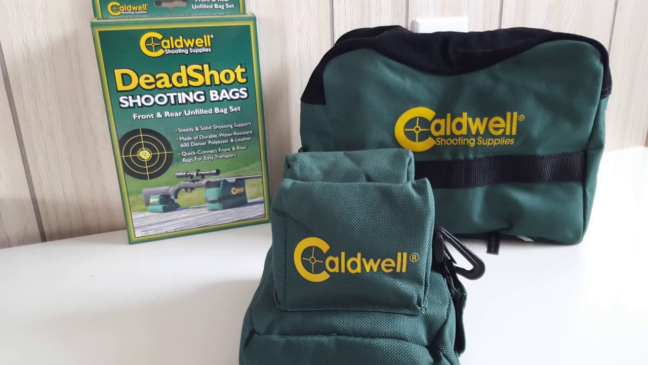 Caldwell Deadshot Shooting Bags - Unfilled Set Review - YouTube 7d8a0d14f87