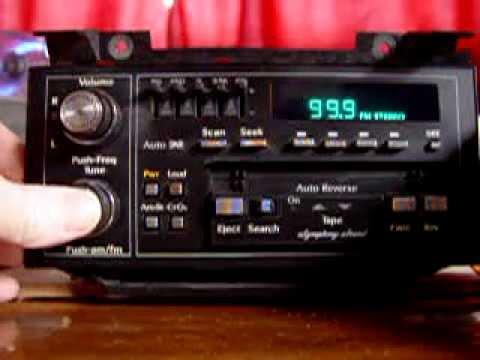 8894 Cadillac Radio  YouTube