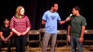 Chris Jones ~ Hypnotist at Lesley University (part 1)