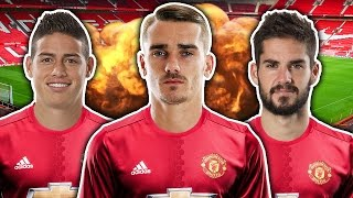 Manchester United To Break The Bank For Superstar Trio?!   Transfer Talk