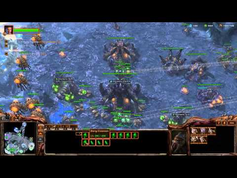 ★ Starcraft 2 Heart of the Swarm Mission 05 - Shoot the Messenger - PC HD