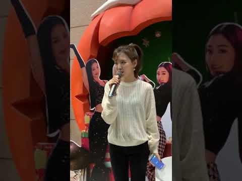 Red Velvet Wendy Sing Goodbye 😍😍