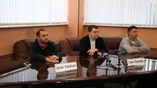 Пресс конференции резидентов Comedy Club ТНТ