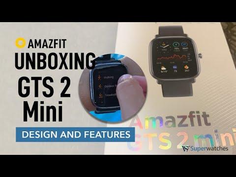 Amazfit GTS 2 Mini Unboxing + Features