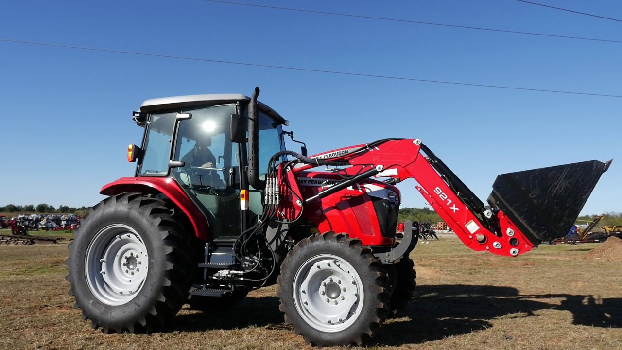 Demo Video of Massey Ferguson 4608 Cab Tractor with Loader