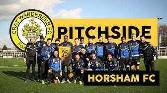 """Pitchside"" -  Cray Wanderers VS Horsham - What a game!"