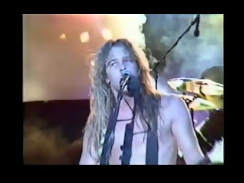 Metallica Fight Fire With Fire Metal Hammer Festival 1985