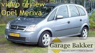 Video review Opel Meriva 1.4 16v Enjoy, 2005, 75-RB-GT