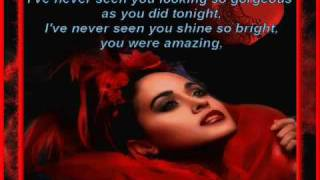 Chris De Burgh - Lady in Red * Lyrics