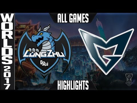 LZ vs SSG Highlights ALL GAMES - Worlds 2017 Quarterfinals - Longzhu vs Samsung Galaxy ALL GAMES