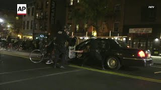Brooklyn protests over PA man killed turn violent