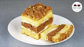 ТОРТ со сгущенкой за 30 минут! Простой рецепт вкусного торта  Simple Cake Recipe