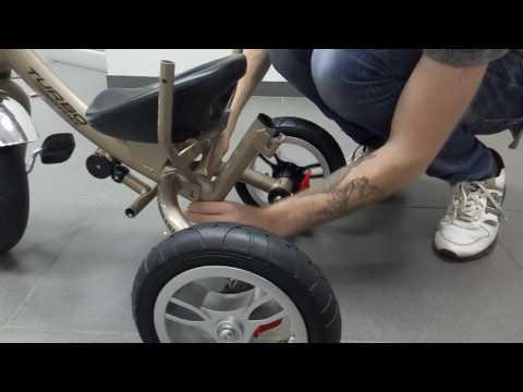 Видео инструкция сборки. Детский трехколесный велосипед Турбо Трайк M 3115, Turbo Trike.