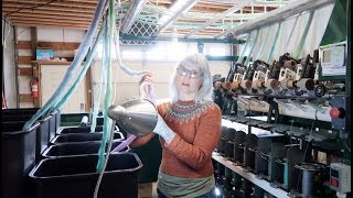 Kristy Glass Knits: Spincycle Mill Tour
