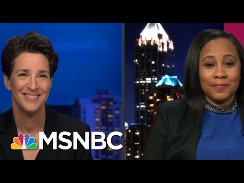 GA Probe Of Trump Likely To Look Beyond Raffensperger Call: Fulton's D.A. Willis   Rachel Maddow