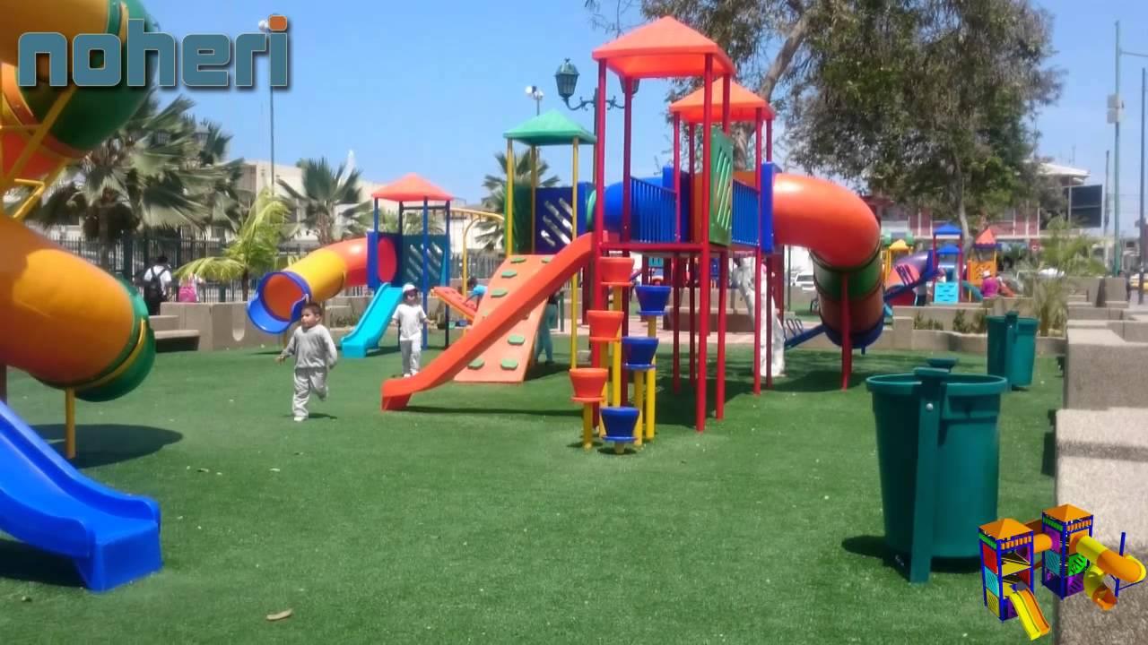 NOHERI SA Juegos Infantiles Parques Acuticos Juegos Interiores y Productos Plsticos  YouTube
